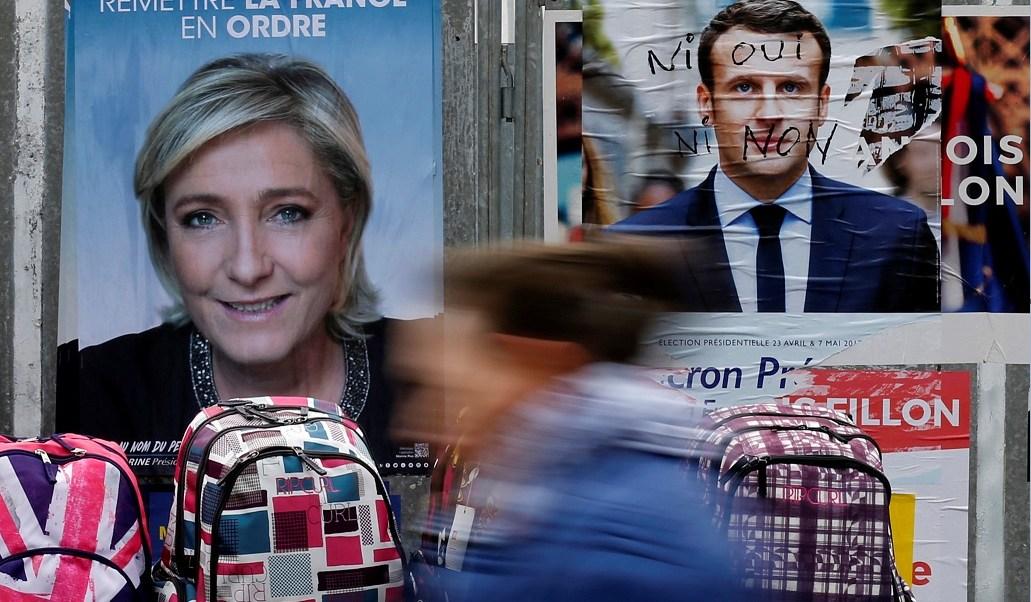 Resultado de imagen de macron fraude elecciones