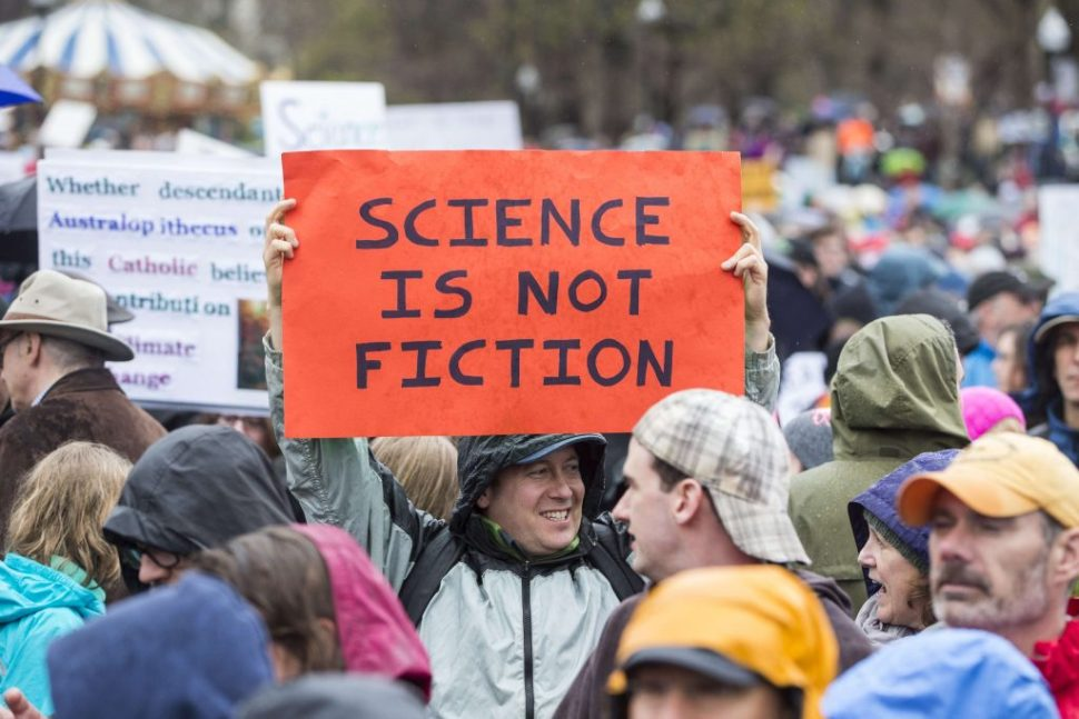 Marcha por la ciencia en Estados Unidos
