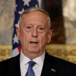El secretario de Defensa estadounidense, James Mattis, durante una conferencia de prensa (Reuters/archivo)
