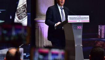 Destacó que este proyecto tendrá financiamiento del Banco de Comercio Exterior (Twitter/@JoseAMeadeK)