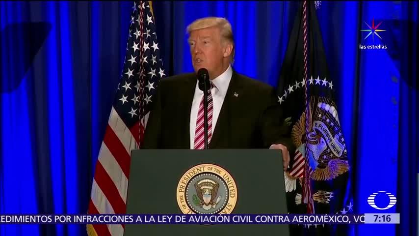 Medios han sido contrapeso de Trump en sus primeros 100 días