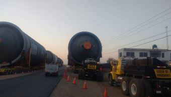 Megacalderas llegan a la refinería de Tula, Hidalgo