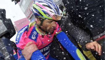 Michele Scarponi, ciclista italiano. (AP, archivo)