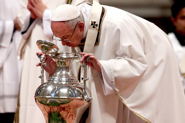 """Francisco llamó a los sacerdotes a ser """"tiernos, concretos y humildes"""". (Getty Images)"""