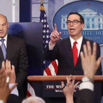 Mnuchin: Trump no divulgará declaración de impuestos