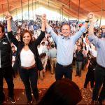 Mitin de Vázquez Mota, en Toluca, Estado de México. (Twitter@JosefinaVM. (Twitter@JosefinaVM)