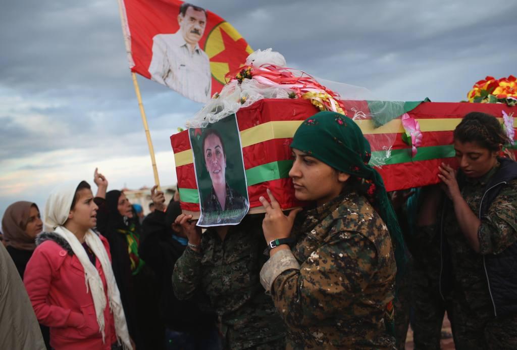 Mujeres kurdas ISIS
