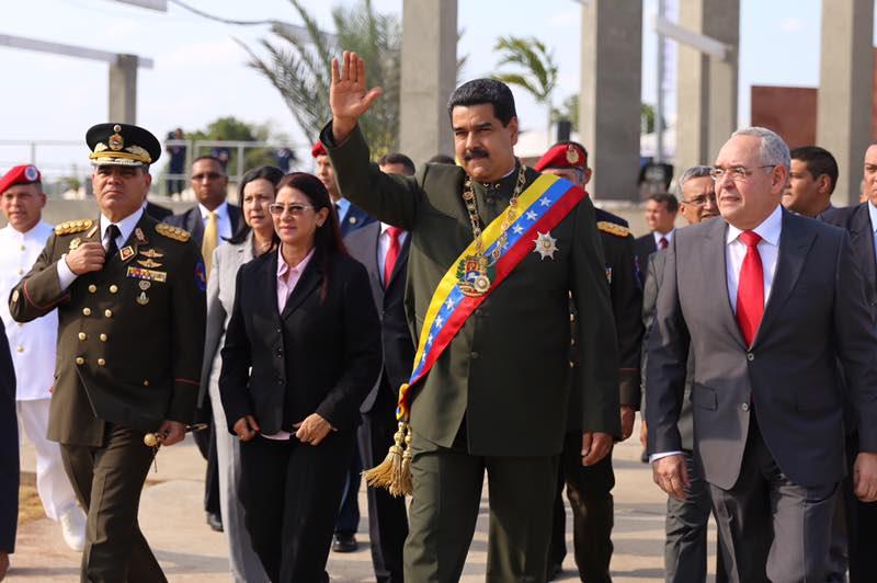 Nicolás Maduro, presidente de Estados Unidos.