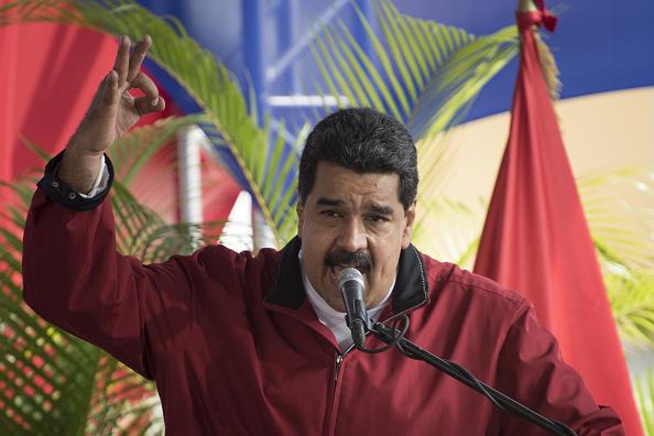 """Maduro acusa a opositores de intentar """"incendiar el país"""" (Getty Images)"""
