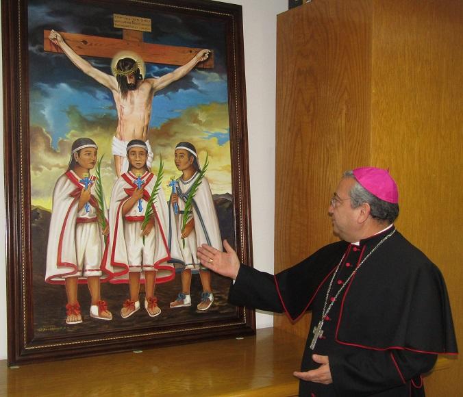 Canonizará Papa a 'niños mártires de Tlaxcala', en octubre próximo