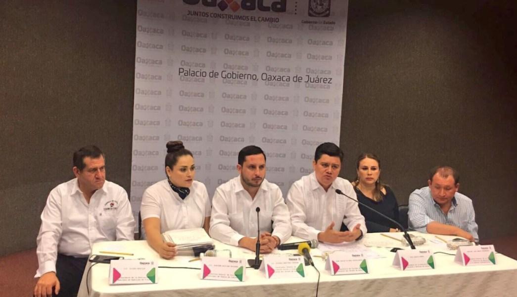 Juan Carlos Rivera Castellanos, secretario de Turismo de Oaxaca, confirmó que la temporada vacacional de Semana Santa fue exitosa. (Twitter: @JuanCRiveraC)