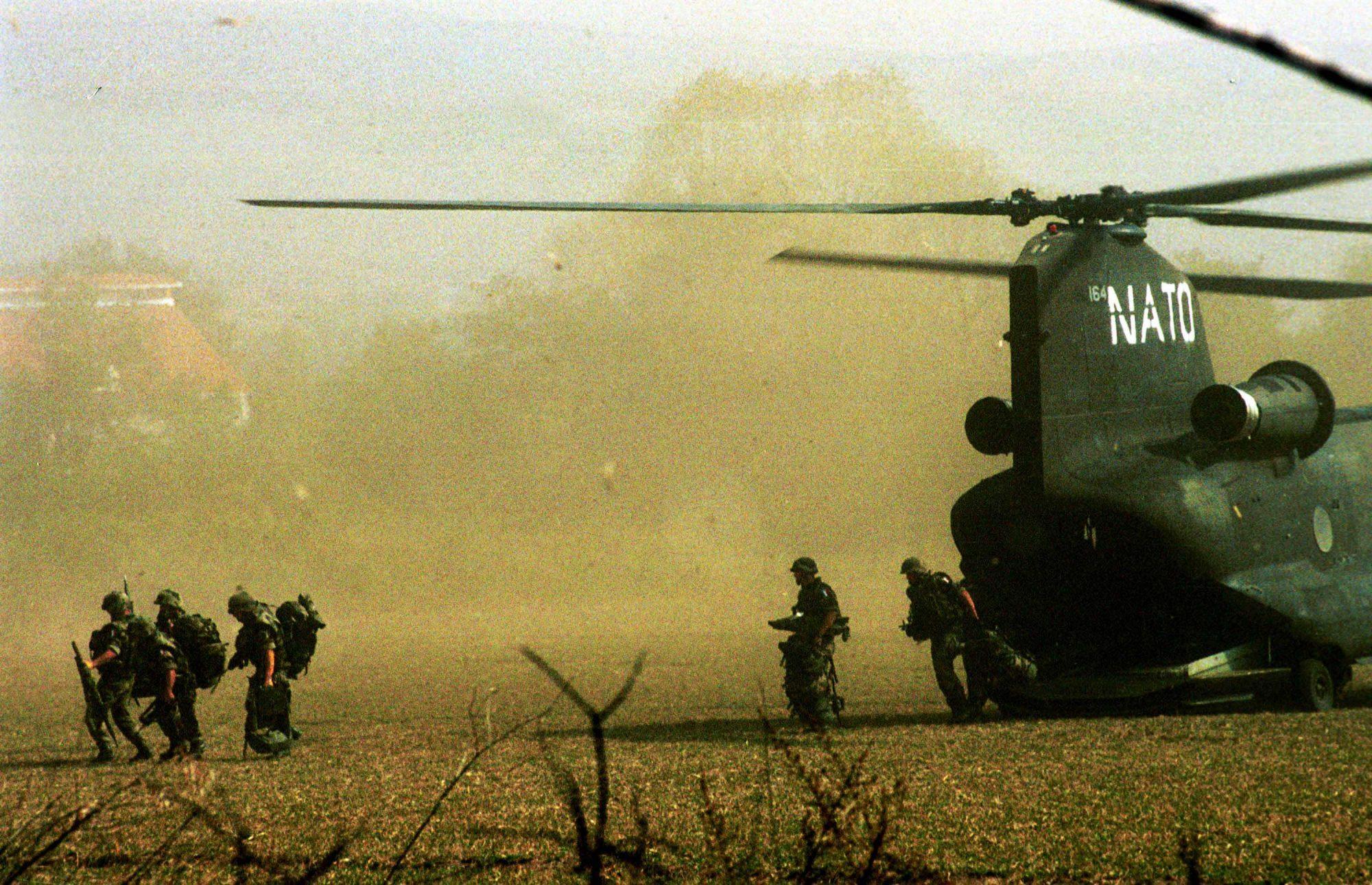 Operación de la OTAN en Macedonia