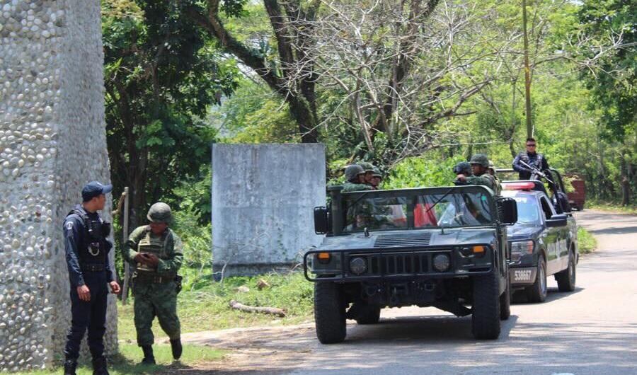 Operativos de seguridad en Tabasco