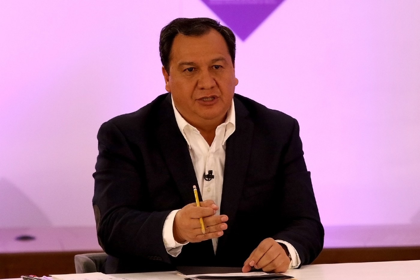 Óscar González, candidato del PT a la gubernatura del Estado de México. (Notimex)