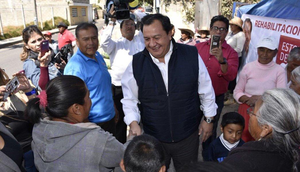 Óscar González Yáñez, candidato del Partido del Trabajo al Gobierno del Estado de México. (Twitter: @OscarGonzalezYa)
