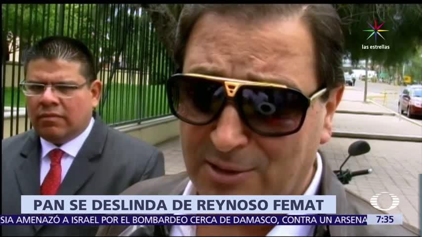 PAN se deslinda de Reynoso Femat