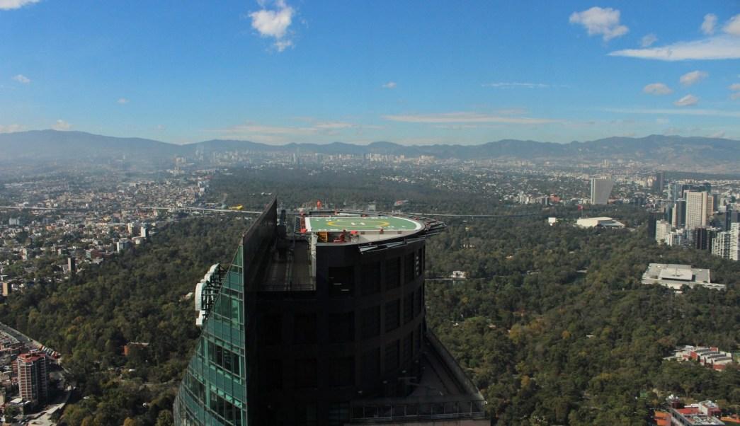 Vista panoramica de la Ciudad de Mexico
