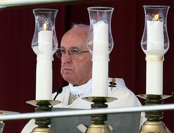 El papa Francisco ofrece mediación en el caso Venezuela (Getty Images)
