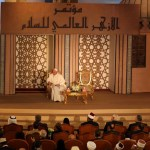 El papa Francisco habla en conferencia sobre la paz, en Egipto.