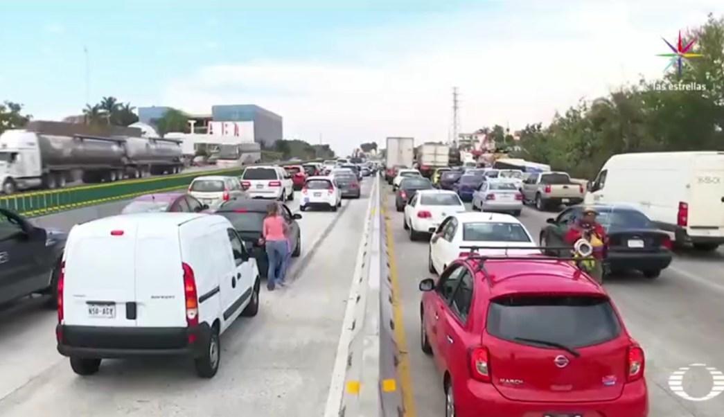 Con el Paso Express se pretende reducir el tiempo en carretera hacia Acapulco. (Noticieros Televisa)