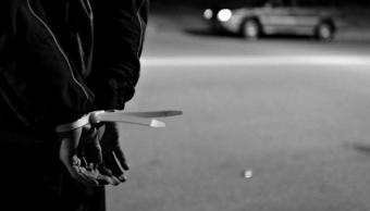 Persona atada; autoridades federales y estatales liberan a cuatro secuestrados en Culiacán, Sinaloa (Getty Images, archivo)