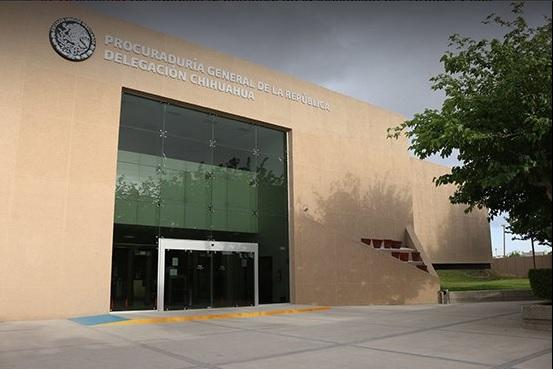 Edificio de la PGR delegación Chihuahua. (Twitter @PGR_Chih, archivo)