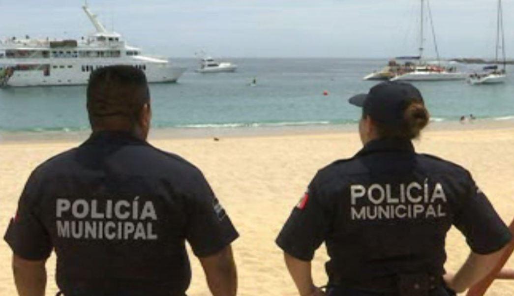 Policía Federal resguarda Los Cabos, BCS, durante Semana Santa. (Noticieros Televisa)
