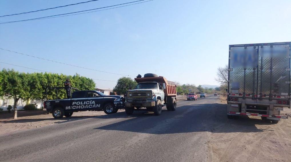 Se refuerza la seguridad en Gámbara, Michoacán (SSP Michoacán)