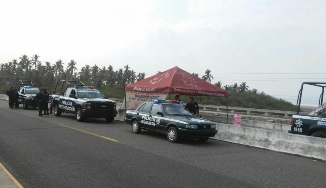 Policía de Michoacán realiza operativo; siete oficiales estatales resultan lesionados tras un accidente en la carretera Sahuayo – Vista Hermosa (Twitter @MICHOACANSSP, archivo)