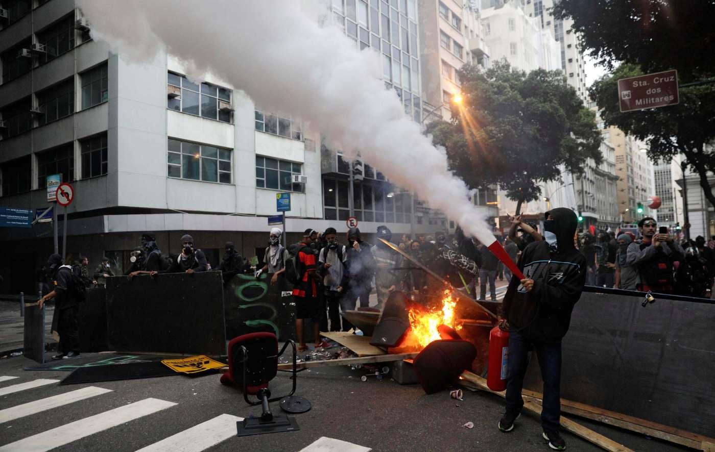 Brasil, protestas, huelga, manifestaciones, policías, Michel Temer,