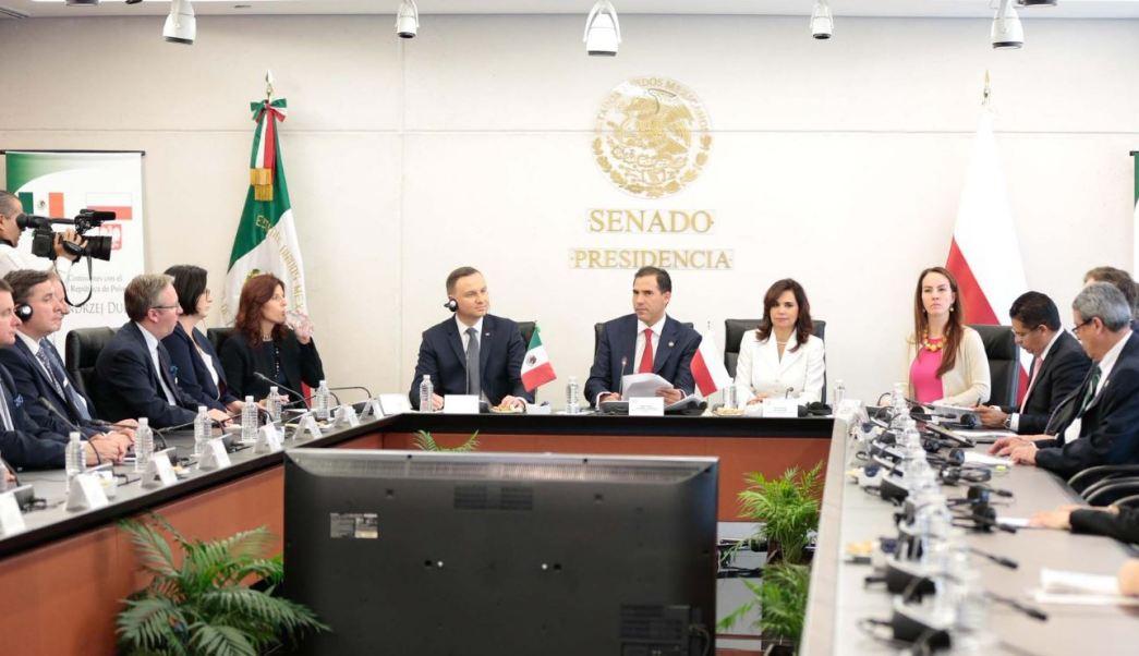 Escudero convocó a integrar una alianza estratégica que defienda el libre comercio por encima de los intereses proteccionistas (Twitter/@senadomexicano)