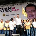 Juan Zepeda, candidato del PRD a la gubernatura del Estado de México, afirma que, de ganar la elección del 4 de junio, construirá líneas del Metro y Metrobús. (Twitter@JuanZepeda_)