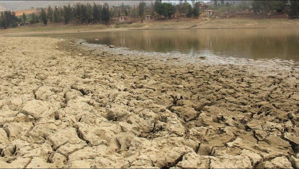 Presa El Estudiante es afectada por la severa sequía que golpea a Oaxaca (Twitter @ECOSYEXPRESION, archivo)