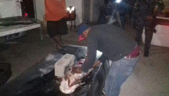 Aseguran cuatro ejemplares de totoaba muertos en San Felipe, BC. (Noticieros Televisa)