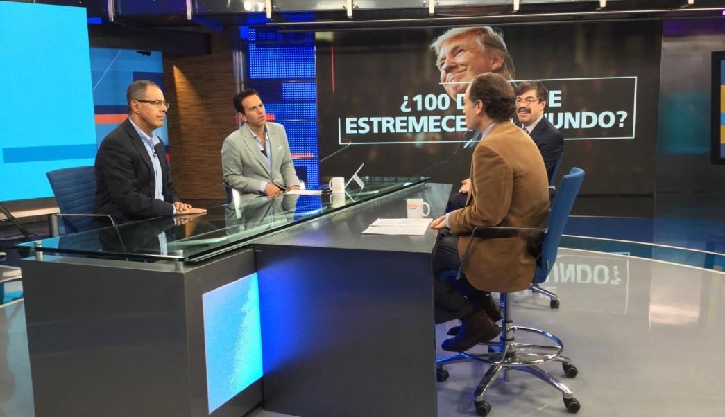 Rafael Fernández de Castro, Javier Tello y Gabriel Guerra en Despierta con Loret