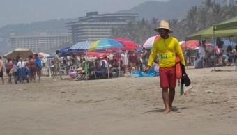 Refuerzan la seguridad para vacacionistas en destinos de playa mexicanas. (Notimex)