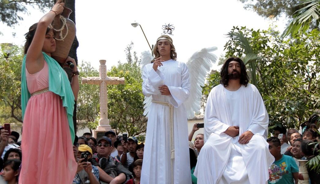 Habrá cortes a la circulación por la 174 Representación de la Semana Santa en Iztapalapa. (Notimex)