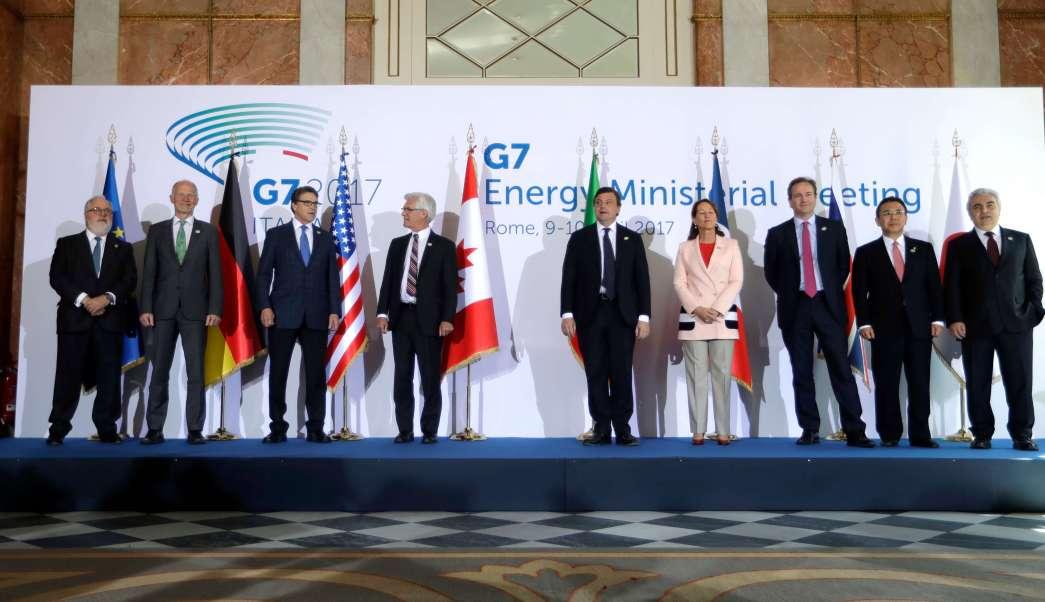 Reunión de ministros de Exteriores del G7 en Italia (AP)