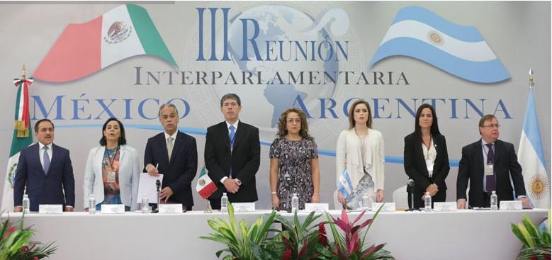 Tercera Reunión Interparlamentaria México-Argentina. (Senado de la República)
