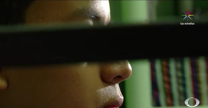 Ricardo, menor migrante originario de Honduras (Noticieros Televisa)