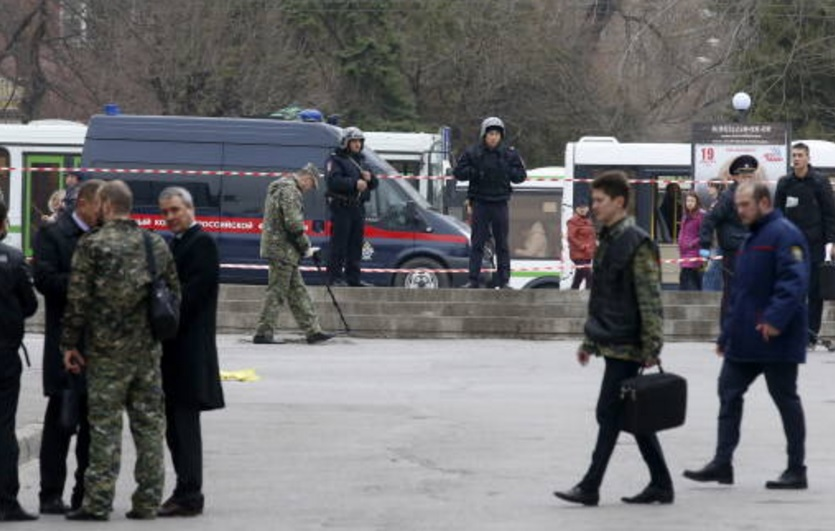 Autoridades resguardan una escuela tras estallar una granada al norte de Rusia (Getty Images/archivo)