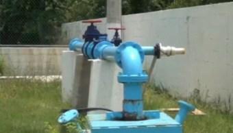 Se registra escasez de agua potable en Coatzacoalcos. (Noticieros Televisa)