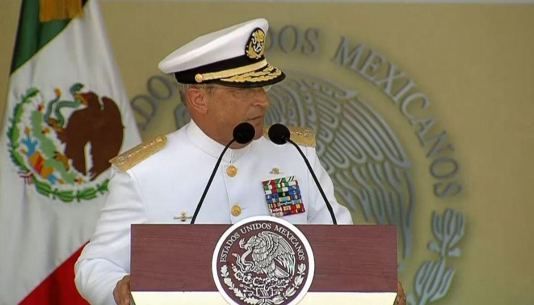 Vidal Soberón Sanz, secretario de Marina