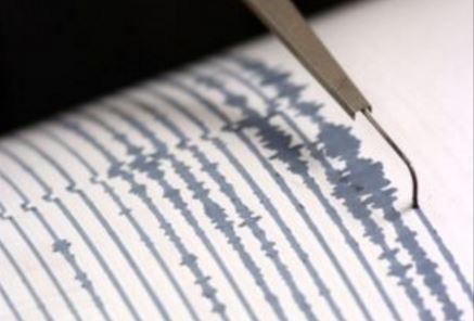 Un sismógrafo registra un movimiento telúrico