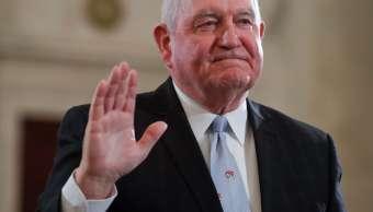 Sonny Perdue, nuevo secretario de Agricultura de Estados Unidos.