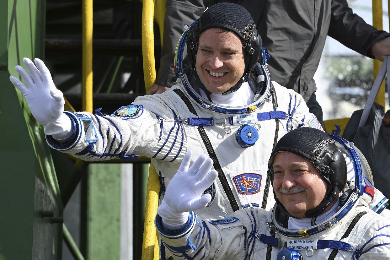 Nave Soyuz partió rumbo a la Estación Espacial Internacional