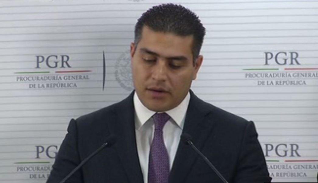 Omar Hamid García Harfuch, director de la Agencia de Investigación Criminal de la PGR (Noticieros Televisa)
