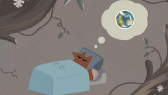 Google rinde homenaje a nuestro planeta con la historia de un joven zorro que tiene una pesadilla sobre el cambio climático (Foto: Google)