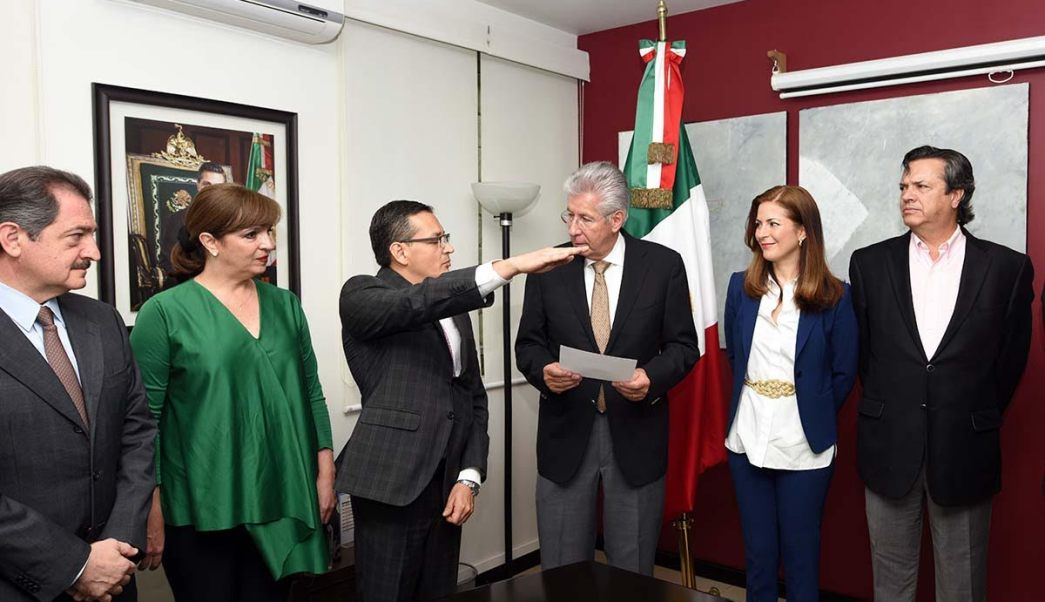 Edgar Olvera, nuevo subsecretario de Comunicaciones de la SCT . (Noticieros Televisa)