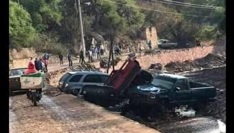 Las autoridades comenzaron el recuento de daños y se trabaja con personal de Protección Civil para ubicar a las personas desaparecidas. (Twitter @laorquestamx)